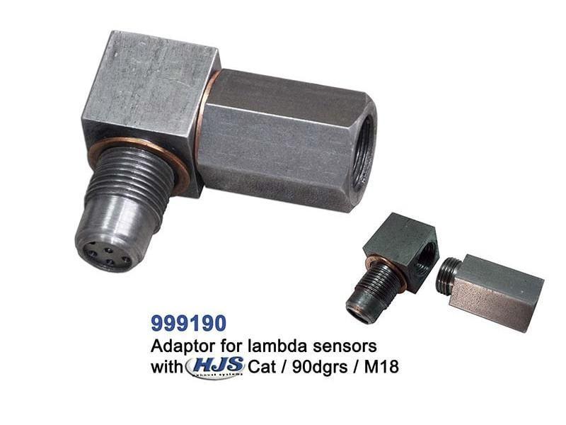 Cel Fix Adaptor For Lambda Sensors With Hjs Euro4 Catalytic Converter 90 Degrees