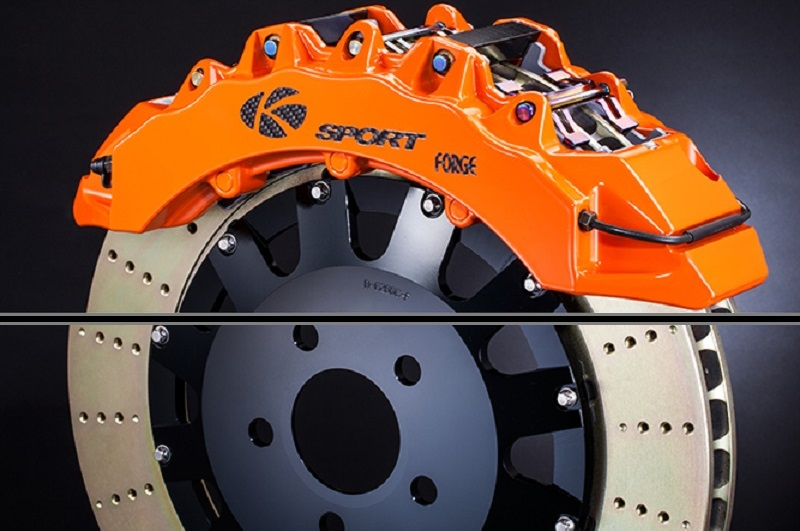 NISSAN SENTRA B15 00-06 K-Sport Front Brake Kit 444X36