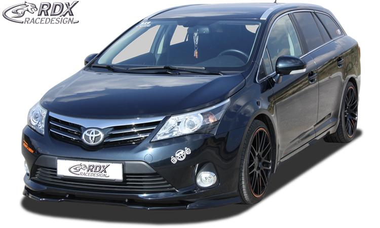 toyota avensis mk3 t270 39 09 rdx front spoiler vario x toyota avensis t27 2009. Black Bedroom Furniture Sets. Home Design Ideas
