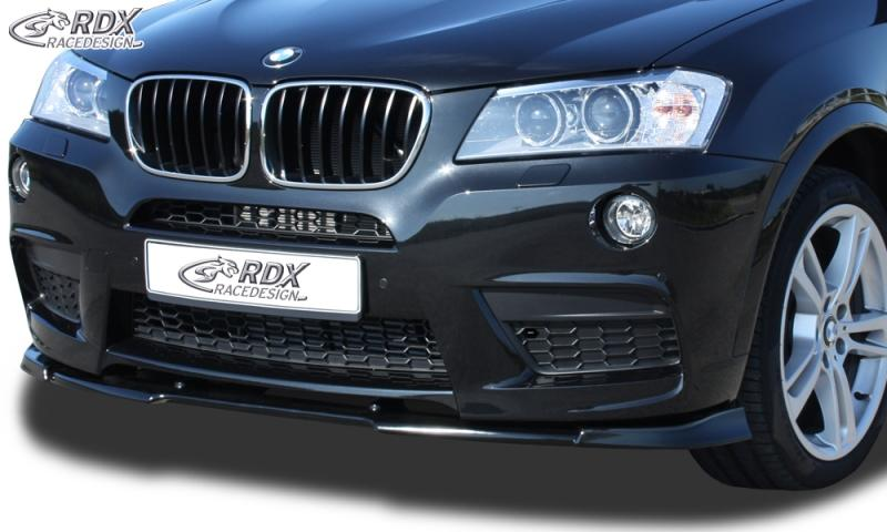 bmw x3 mk2 f25 39 10 rdx front spoiler vario x bmw x3. Black Bedroom Furniture Sets. Home Design Ideas