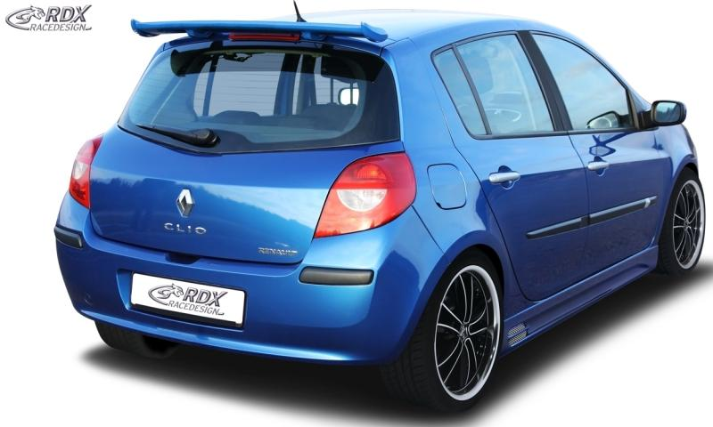 renault clio mk3 39 05 39 14 rdx roof spoiler renault clio 3 phase 1 2. Black Bedroom Furniture Sets. Home Design Ideas
