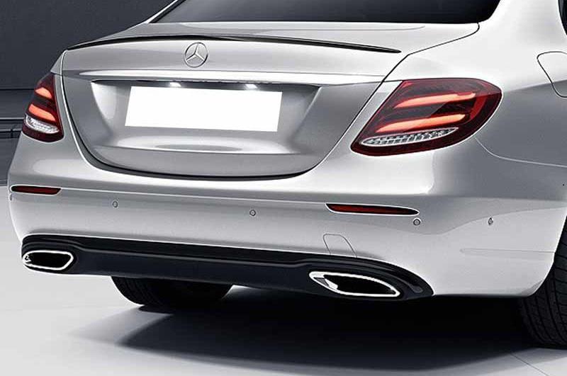 Mercedes C-Class W205 E-Class W213 Avantgarde Exhaust Tips Trims