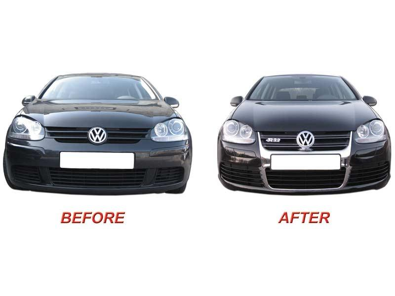 vw golf mk5 1k 39 04 39 08 vw golf 5 r32 front bumper. Black Bedroom Furniture Sets. Home Design Ideas